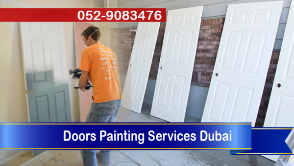 Painting Doors Services Dubai