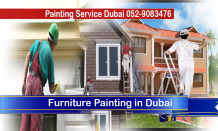 Villa painting in Palm Jumeirah
